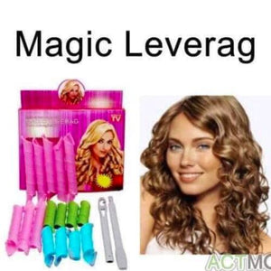 Magic Leverag 18-piece Hair Curler Set