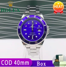 Load image into Gallery viewer, ROLEXs Watch For Men Momen Pawnable Original Silver ROLEXs Green Bluek Water Ghost-36mm