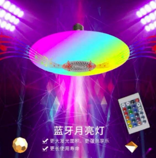 UFO musical light 48w