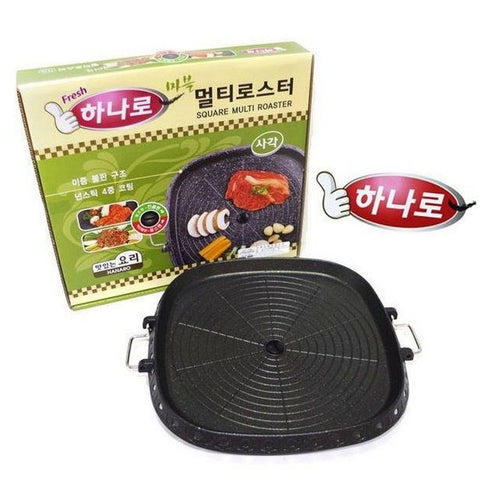Korean Square Barbecue Plate Steak Frying Pan