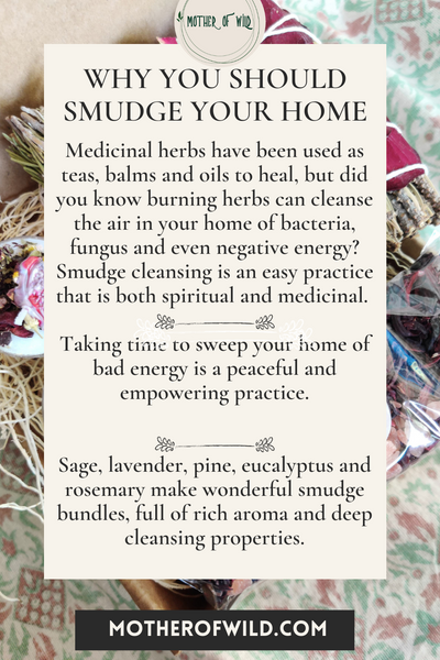 Why You Should Smudge Your Home
