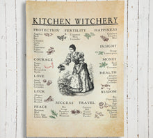 Load image into Gallery viewer, Kitchen Witchery Tapestry Indoor Wall Tapestries