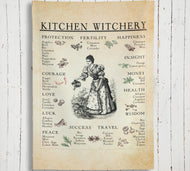 Kitchen Witchery Tapestry Indoor Wall Tapestries