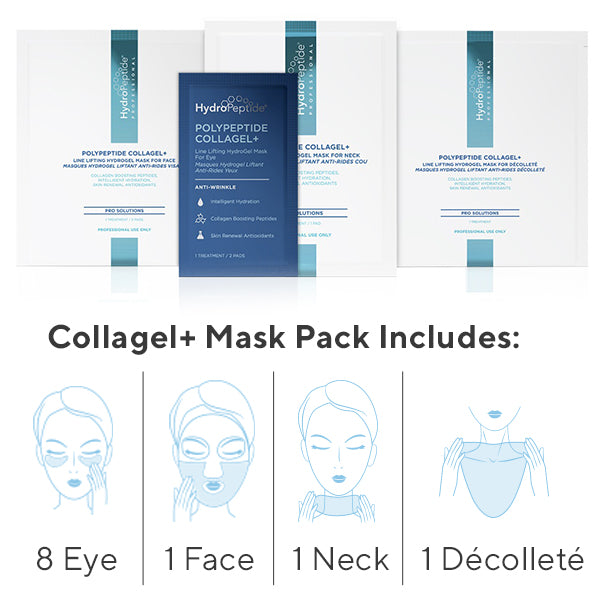 Glow Team HydroGel Mask Set - Retail ($100 value)