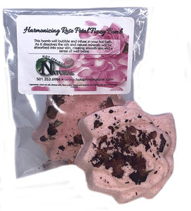 Harmonizing Rose Petal Bath Fizzy