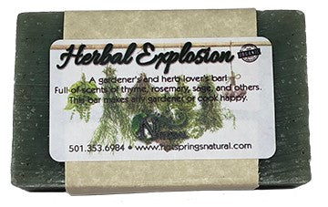 Herbal Explosion Soap