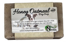Load image into Gallery viewer, Honey Oatmeal Dog Soap