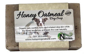 Honey Oatmeal Dog Soap