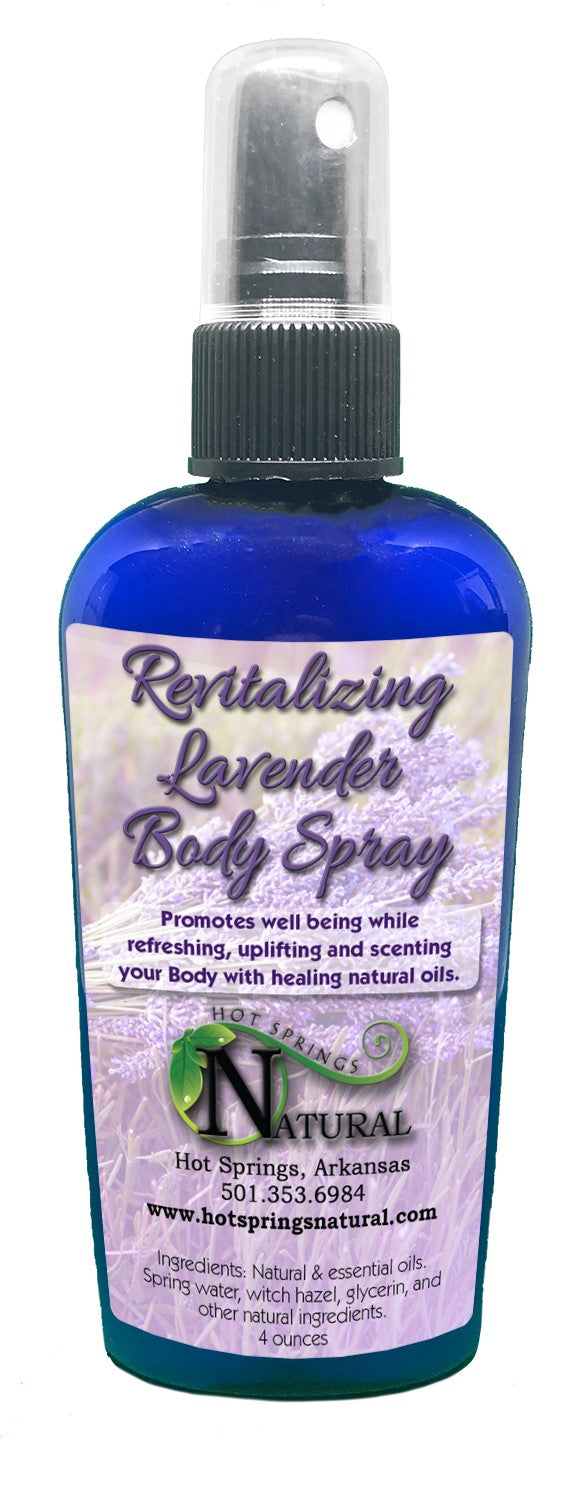 Revitalizing Lavender Body Spray