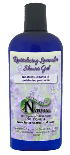 Revitalizing Lavender Shower Gel