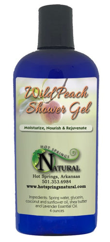 Wild Peach Shower Gel