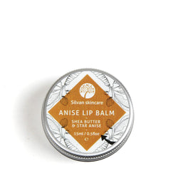 Silvan Skincare Anise Vegan Lip Balm 100% natural ingredients, cruelty-free