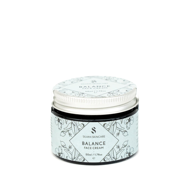 Silvan Skincare Balance Face Cream is an oily and combination skin moisturiser