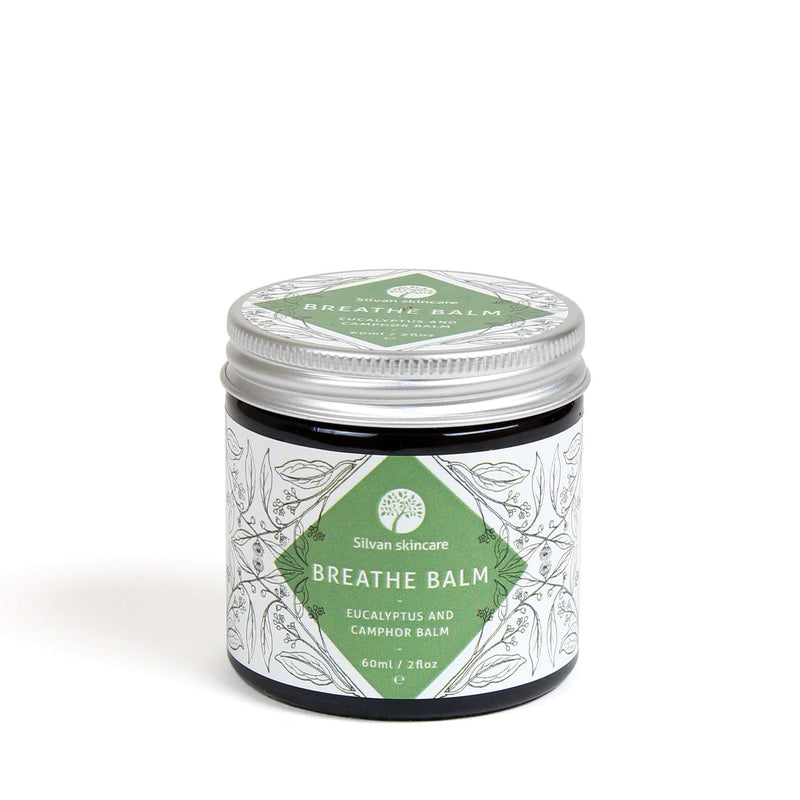 Breathe Balm is a gentle clearing balm to soothe and clear. Vegan, cruelty free