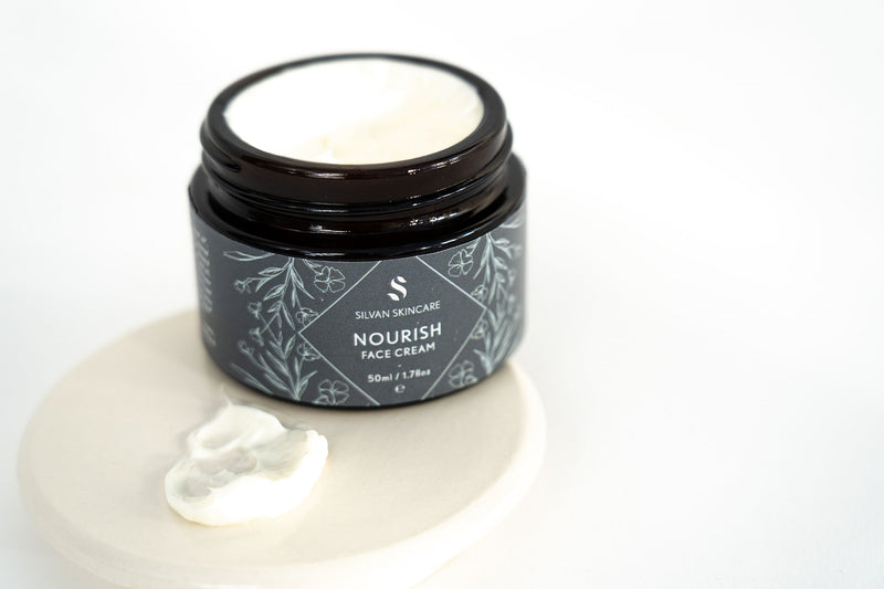 Nourish Face Cream Silvan Skincare hydrating dry skin