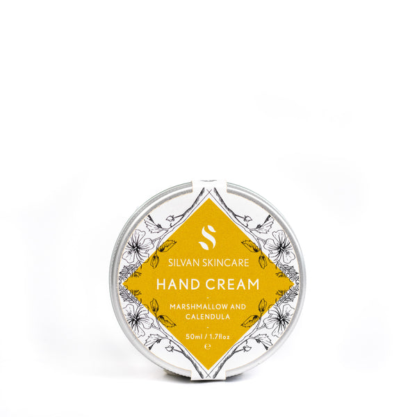 Vegan hand cream Silvan Skincare Marshmallow and Calendula