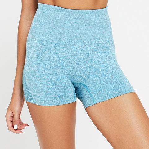 Women Seamless High Waist Fitness Shorts