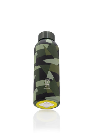Jungle Army Style Matt Thermic Water Bottle