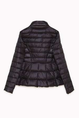 Ultra-Lightweight Black Down Jacket