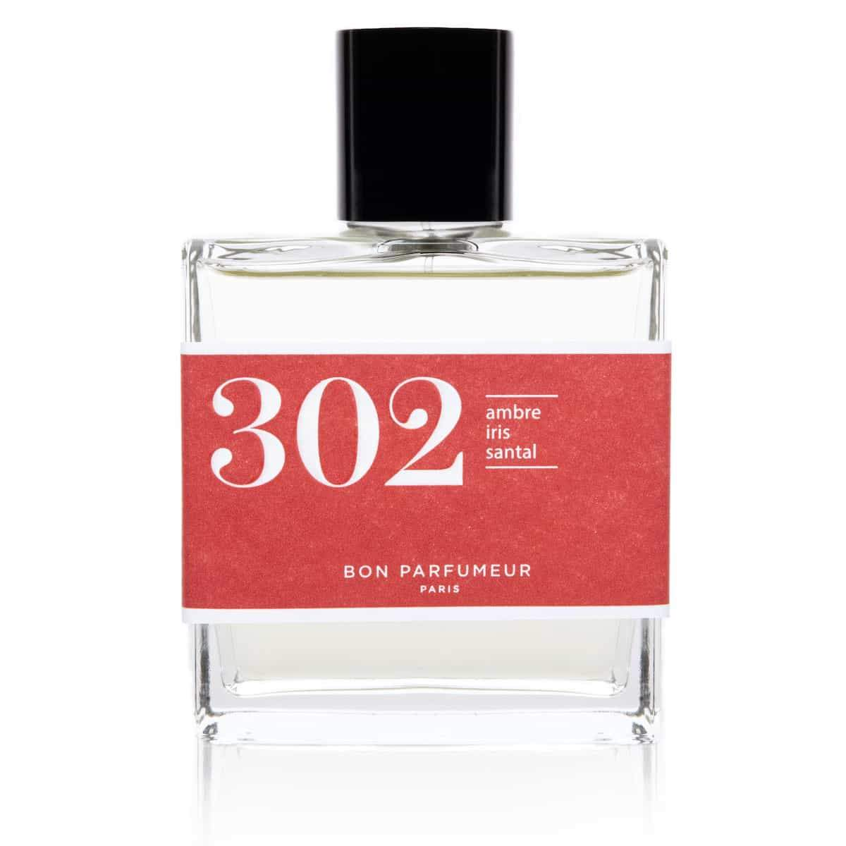 Eau de parfum 302: amber, iris and sandalwood