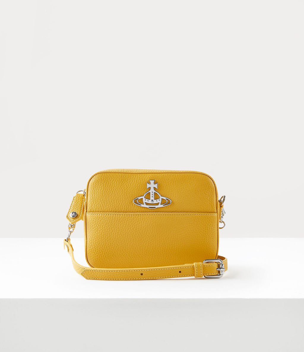 Rachel Yellow Crossbody Bag