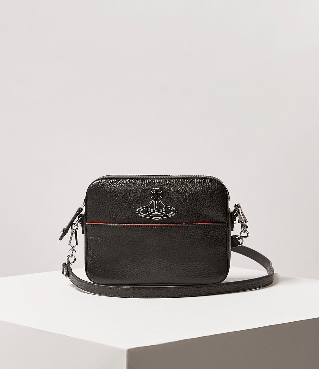 Rachel Black Crossbody Bag