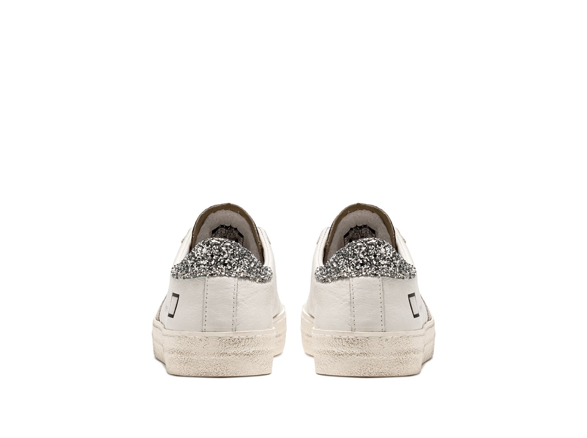 Hill Low White & Pony Sneaker