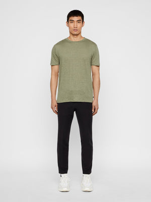 Coma Covert Green Linen T-Shirt