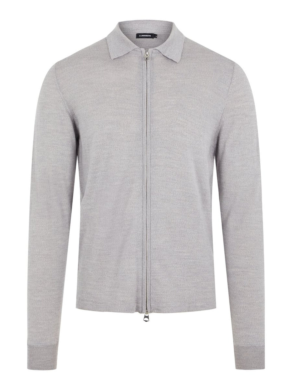 Nyle Perfect Grey Merino Zip Sweater