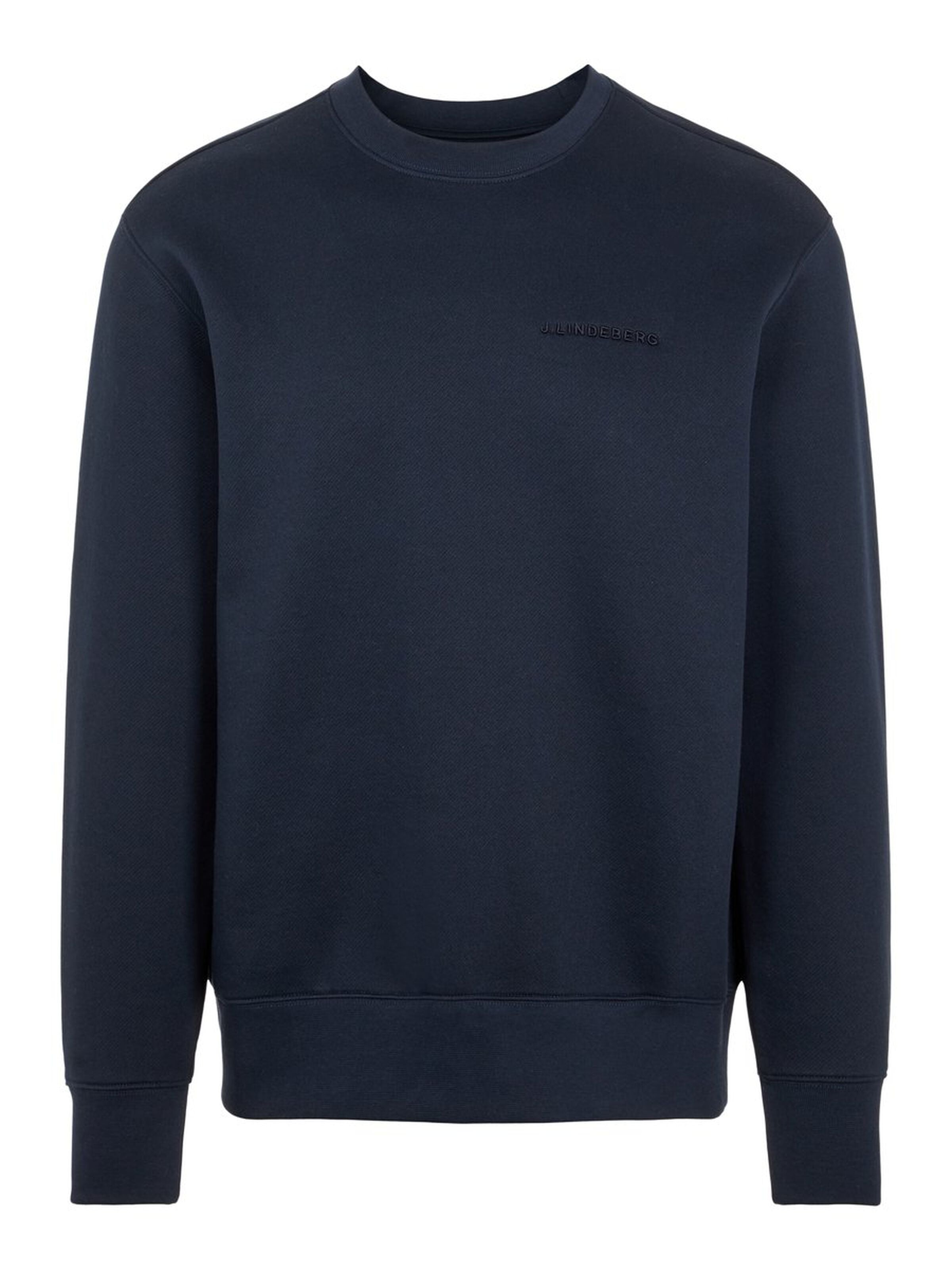 Chip Navy Crew Neck Sweatshirt