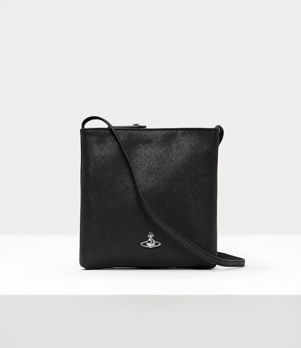 Johanna Square Crossbody Black