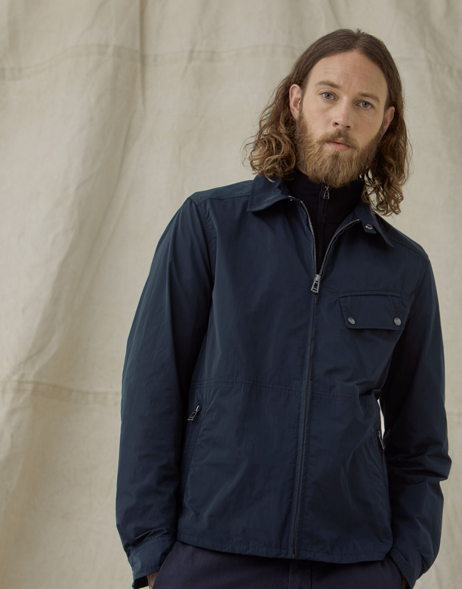 Camber Dark Ink Shirt Jacket
