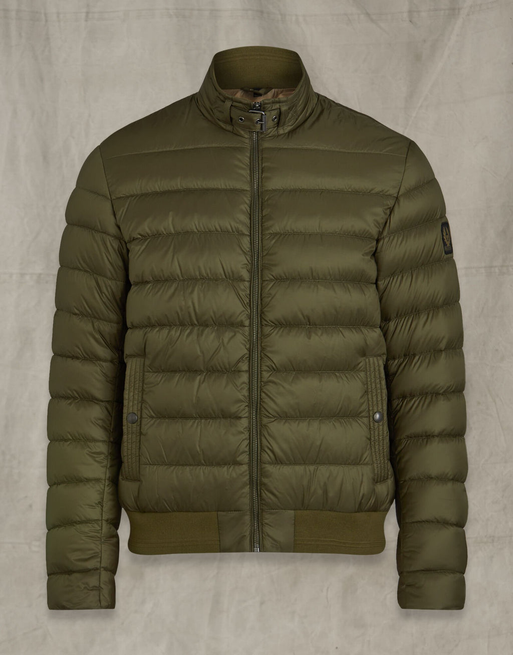 Circuit Salvia Green Quilted Jacket