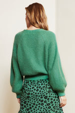 Starry Garden Green Cardigan