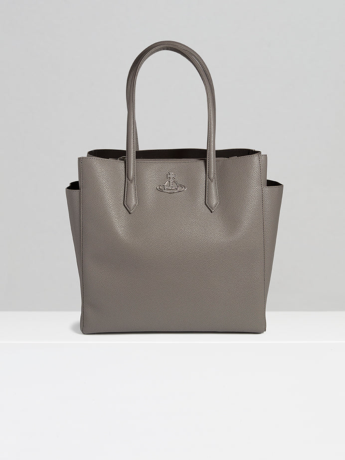 Johanna grey Large Shopper Tote