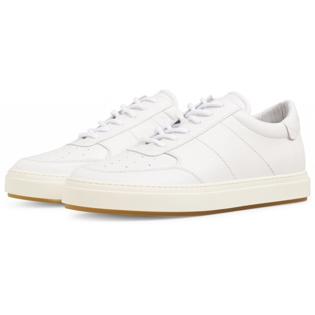 Legend White Leather Sneaker