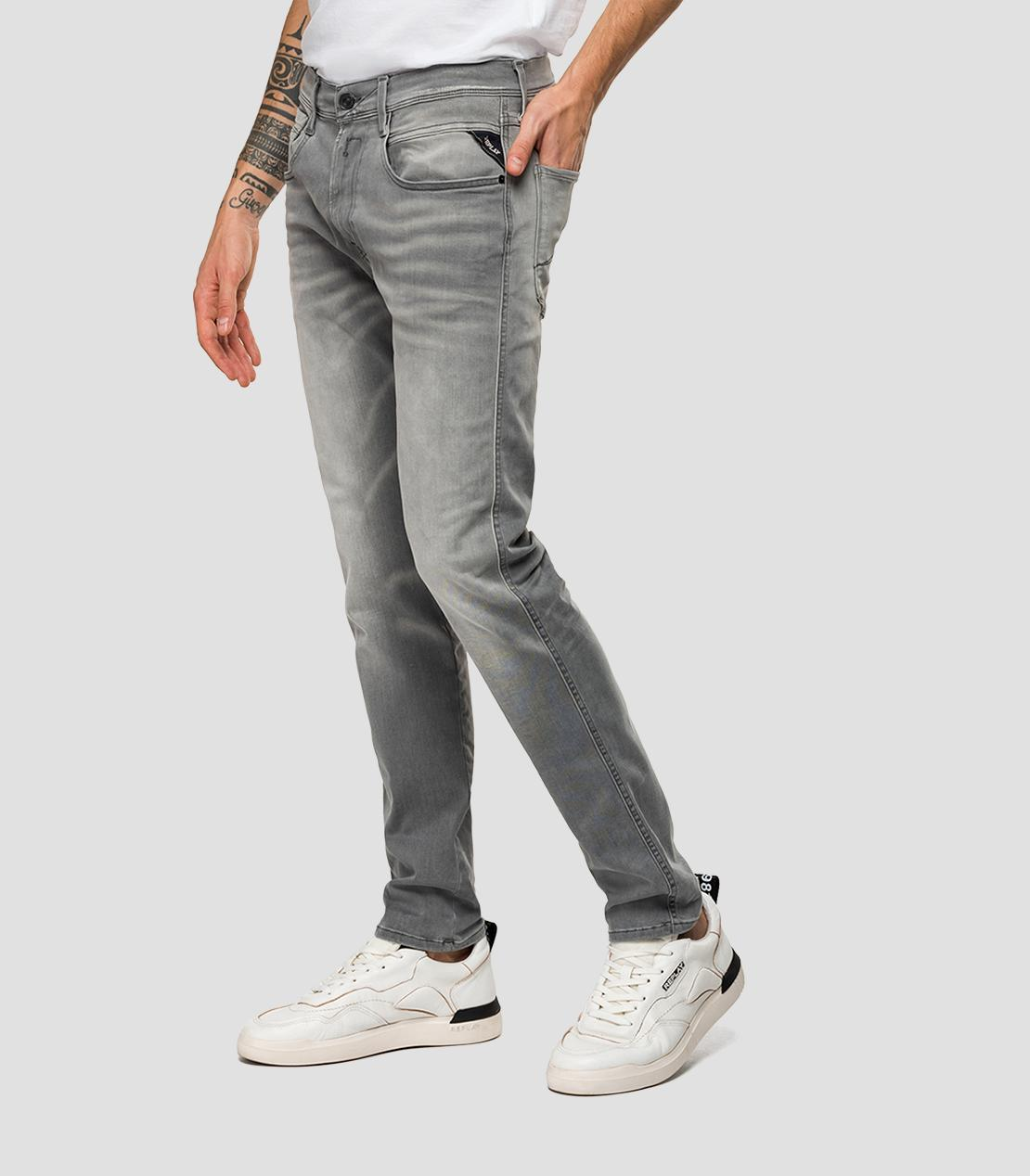 Hyperflex Bio Grey Wash Jeans