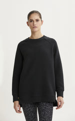 Manning Black Ribbed Sweater
