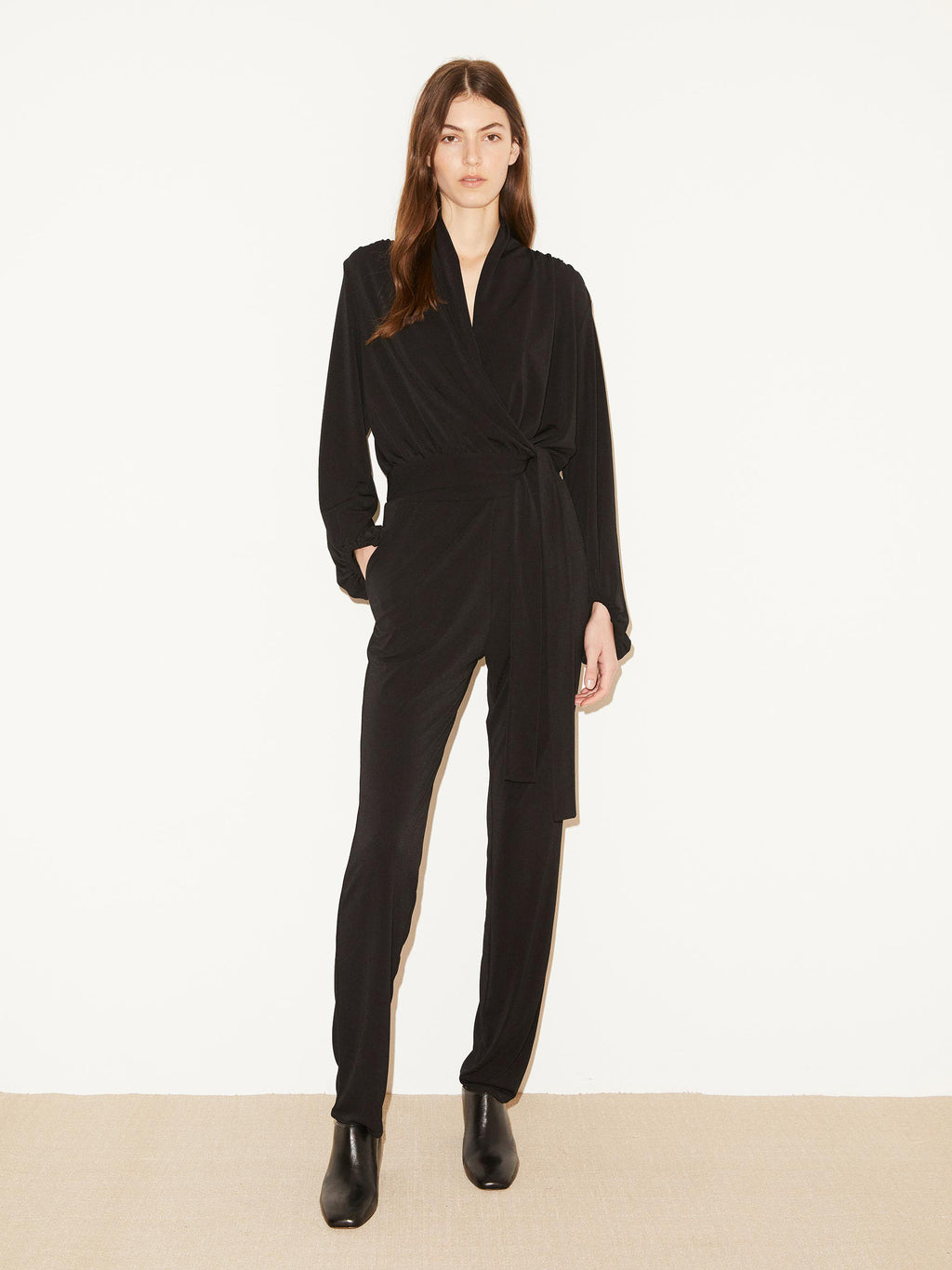 Editha Black Jumpsuit