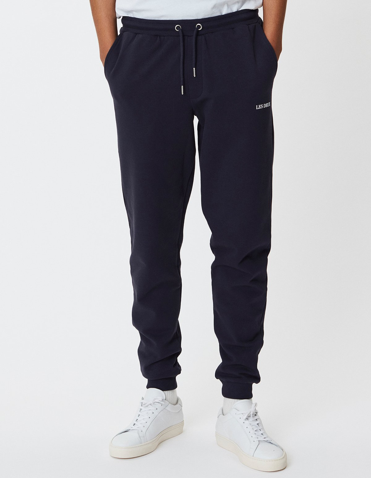 Lens Navy Sweatpants