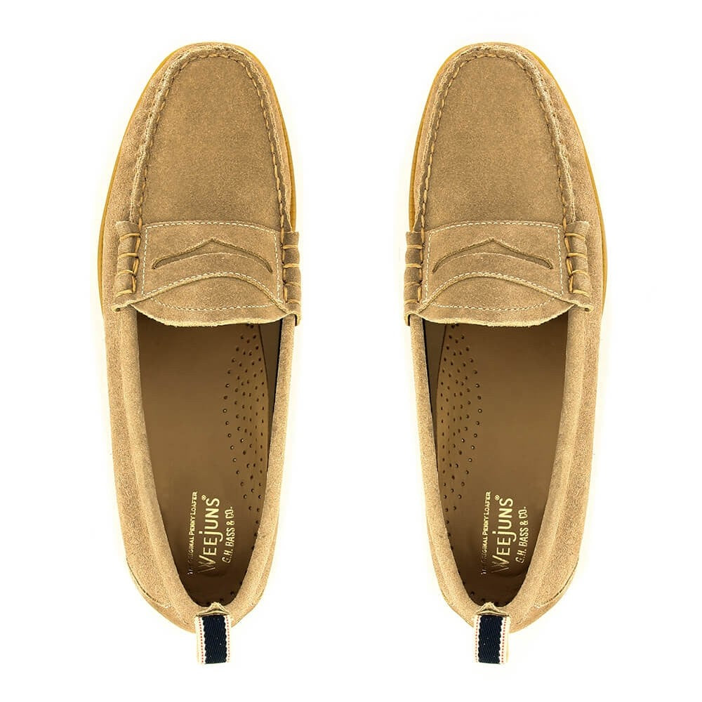 Easy Weejuns Larson Earth Suede