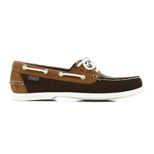 Jetty II Boater Mid Brown & Tan Nubuck