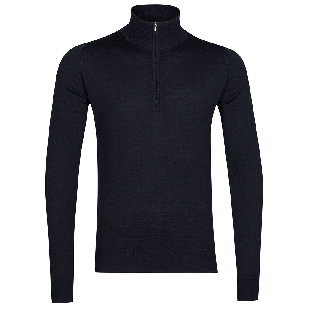 Barrow Midnight 1/4 Zip Sweater