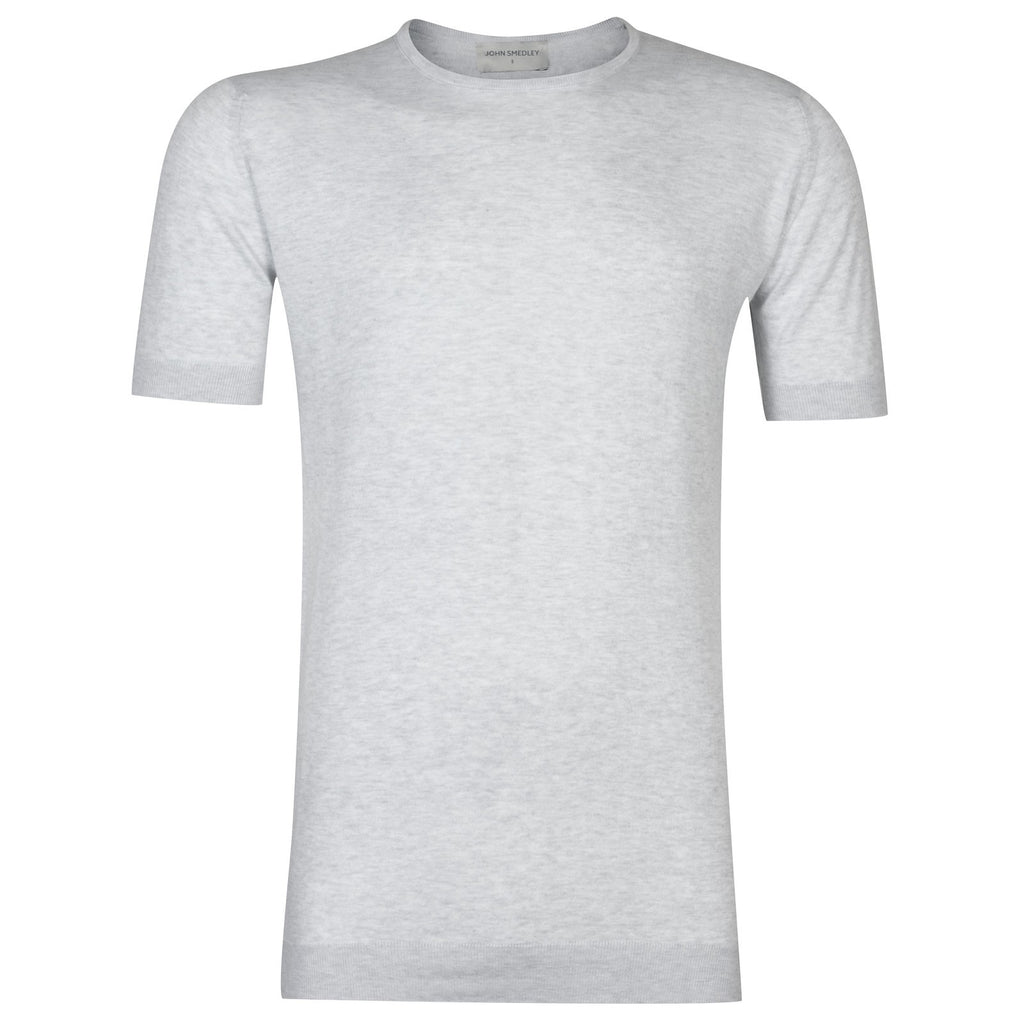 Belden Feather Grey Sea Island Cotton T-Shirt