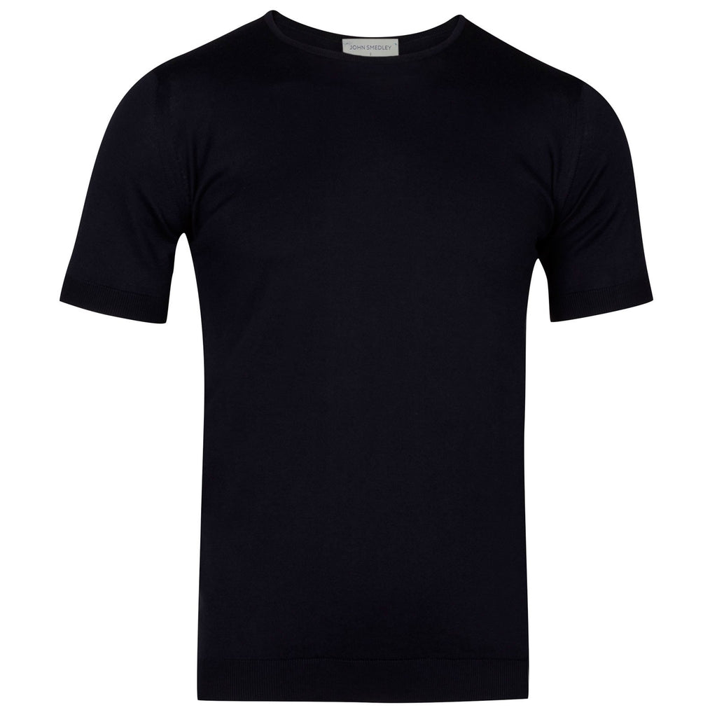 Belden Navy Sea Island Cotton T-Shirt