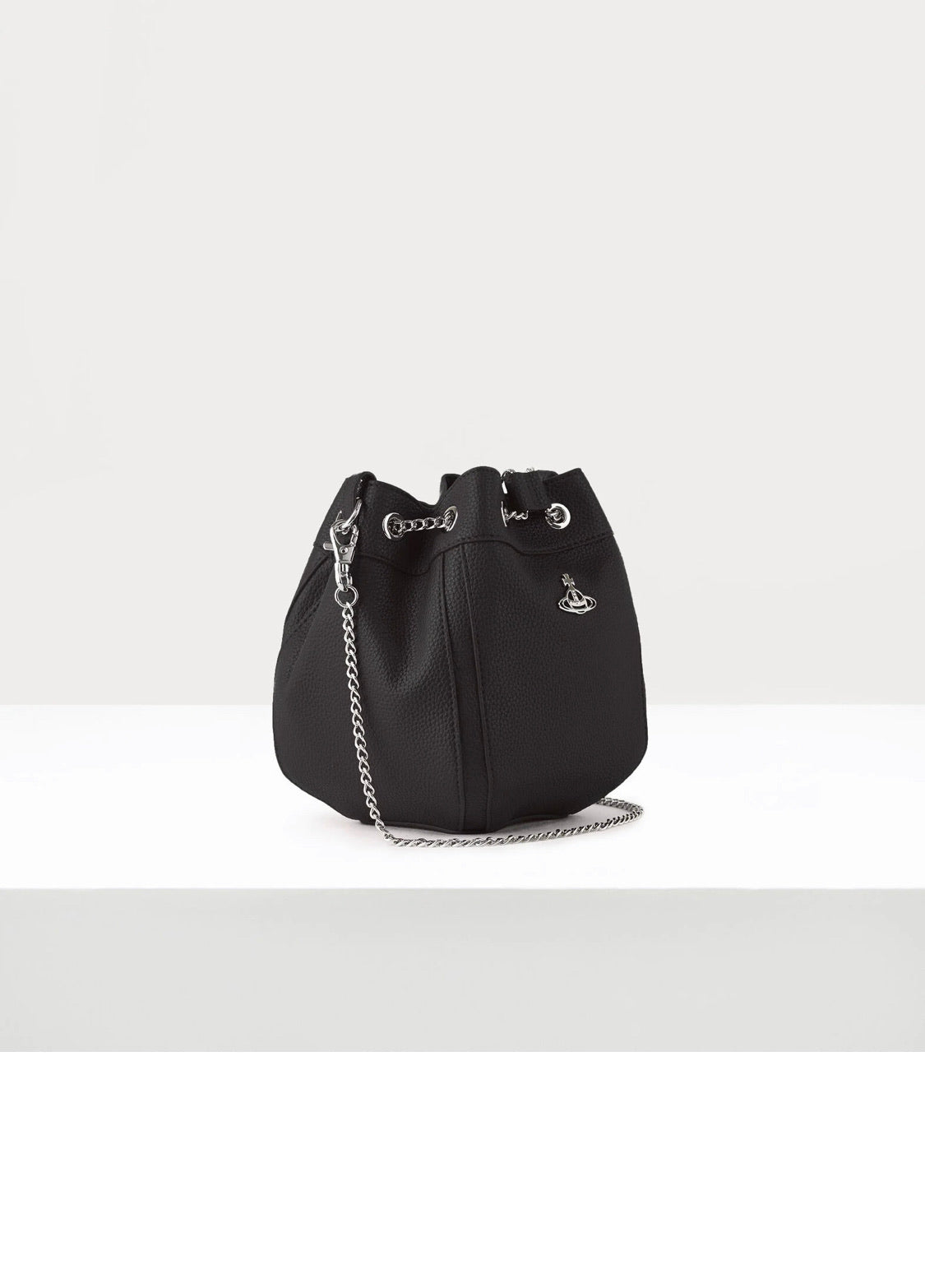 Johanna Black Bucket Bag