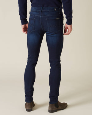 Ronnie Tapered Luxe Performance Plus Deep Blue Jean