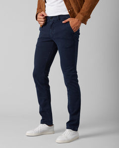 Extra Slim Chino Luxe Performance Sateen Navy