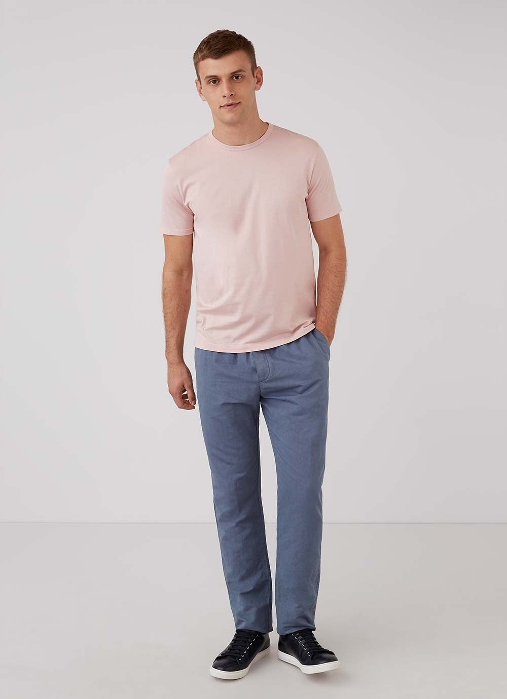 Dusty Pink Classic Cotton T-Shirt
