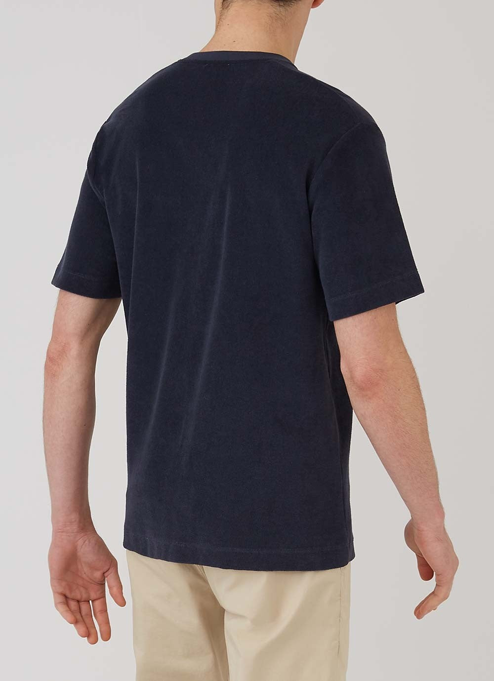 Organic Cotton Towelling T-Shirt